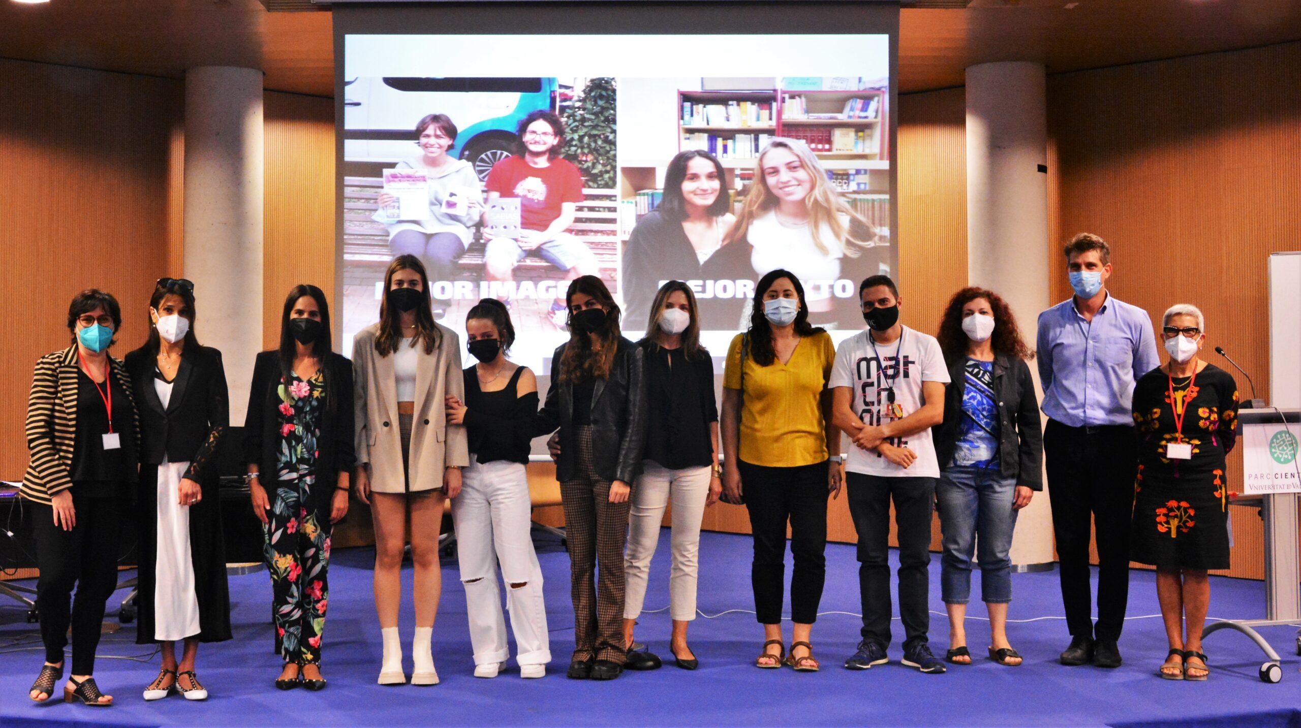 L'IFIC celebra el primer lliurament de premis del concurs Express-Arte ConCiencia